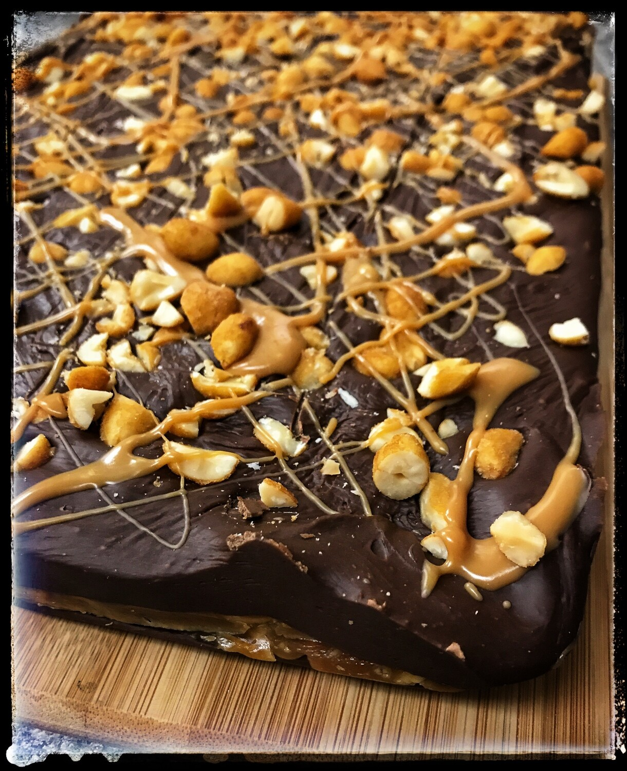 FUDGE OF THE MONTH - SNICKERS BAR