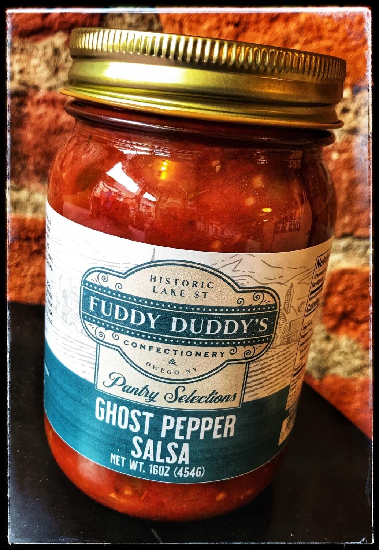Fuddy Duddy's Ghost Pepper Salsa