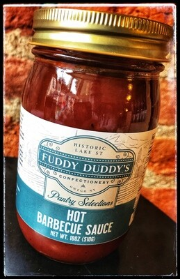 Fuddy Duddy's Hot BBQ Sauce