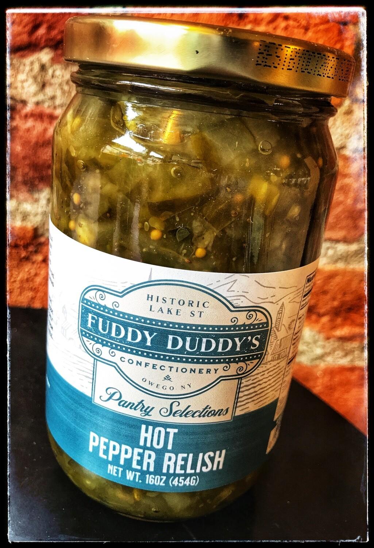 Fuddy Duddy's Hot Pepper Relish