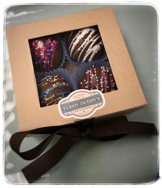 Chocolate Truffle Gift Boxes