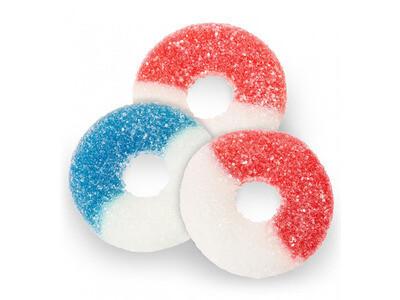 Patriotic Gummy Rings