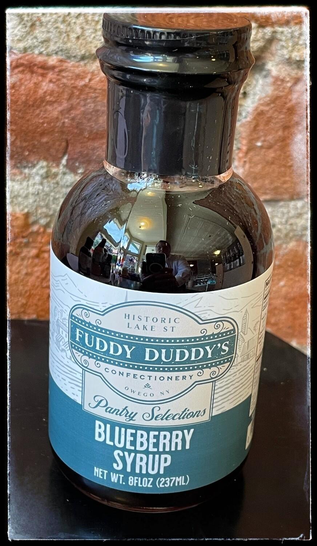 Fuddy Duddy's Blueberry Syrup