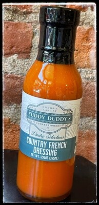 Fuddy Duddy's Country French Dressing