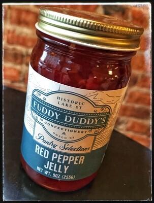 Fuddy Duddy's Red Pepper Jelly