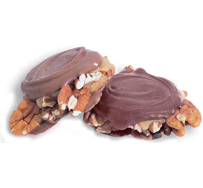 Milk Chocolate Pecan Paws