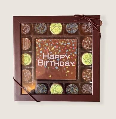 Artisan Chocolate Truffle Birthday Gift Boxes