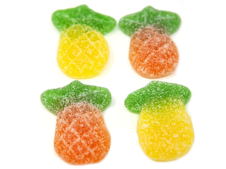 Gummy Sour Pineapples