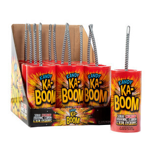 Ka-Boom! Sour Cherry Popping Explosion Candy