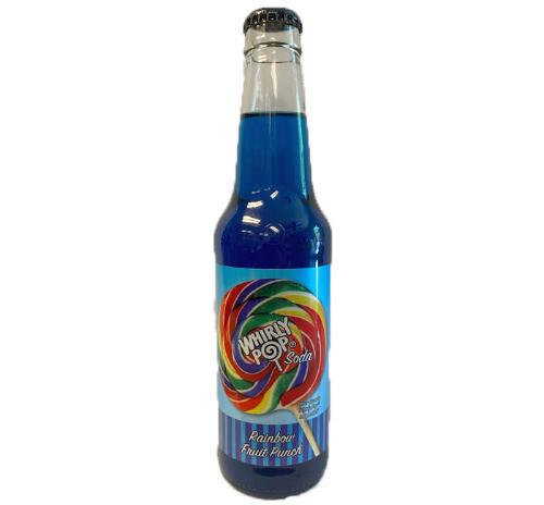 Whirly Pop Soda - Rainbow Fruit Punch