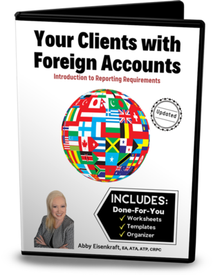 Your Clients with Foreign Accounts (Digital Download)