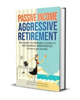 """Passive Income, Aggressive Retirement"" Autographed Hardcover"
