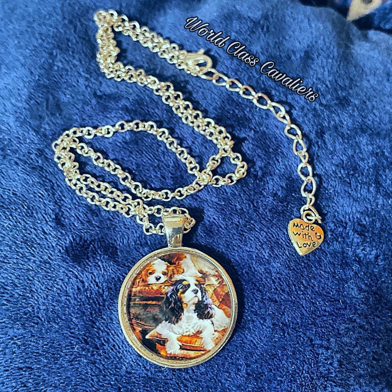 Cavalier King Charles Spaniel Necklace - Design 1