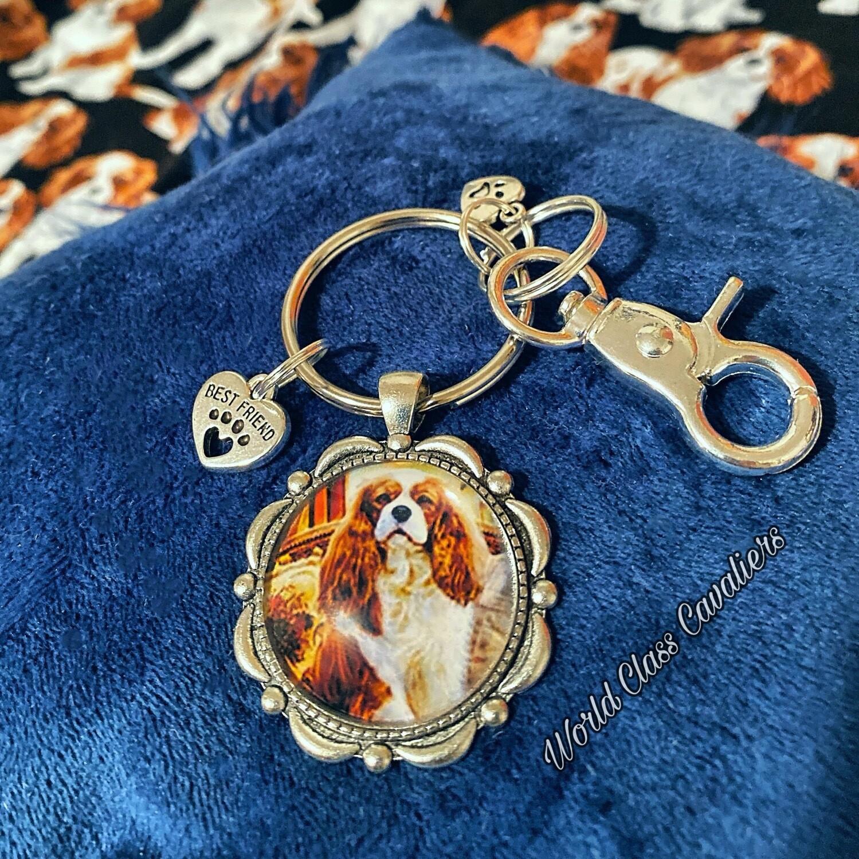 Cavalier King Charles Spaniel - Keychain