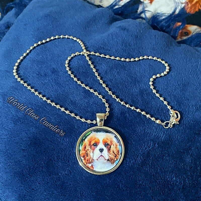 Cavalier King Charles Spaniel Necklace - Design 3