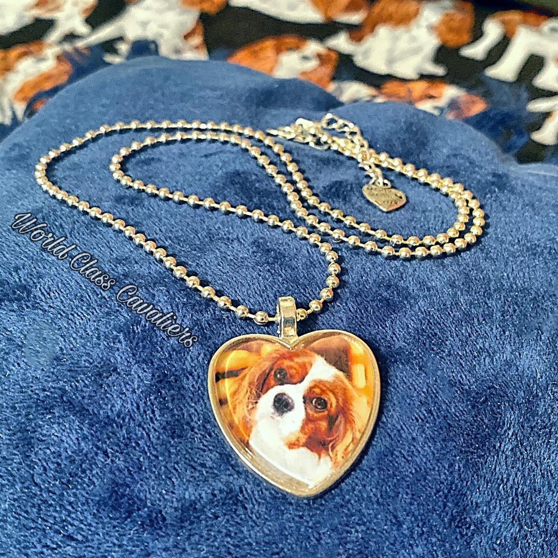 Cavalier King Charles Spaniel necklace - design 4