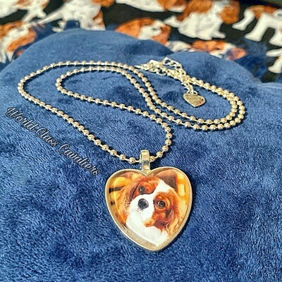 Cavalier King Charles Spaniel necklace - design 4