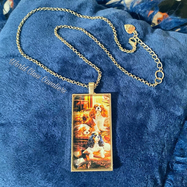 Cavalier King Charles Spaniel necklace - design 6
