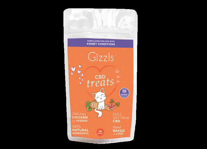 Gizzls Urinary Care CBD Treats for Cats