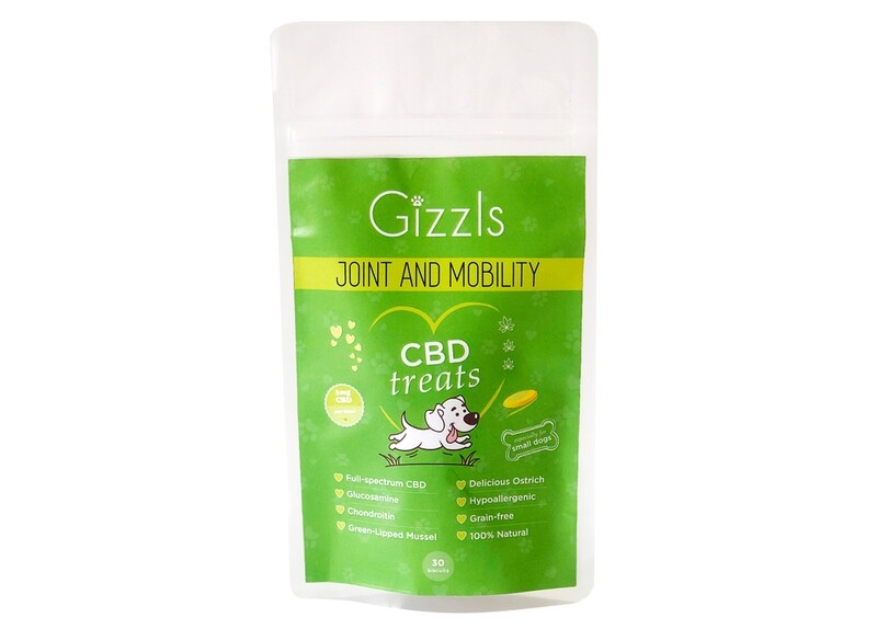 Gizzls Joint and Mobility CBD Dog Treats (for Small Dogs)