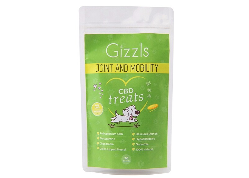 Gizzls Joint and Mobility CBD Dog Treats