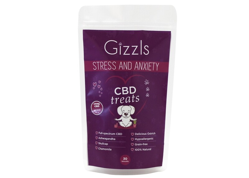 Stress and Anxiety CBD Dog Treats