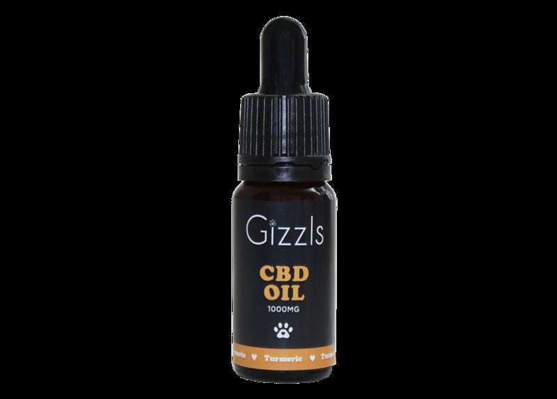 Gizzls CBD Oil with Turmeric
