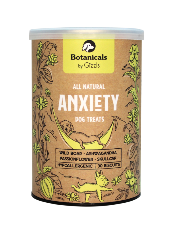 100% Natural Dog Treats for Anxiety