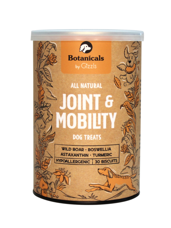 100% Natural Dog Treats for Joint & Mobility