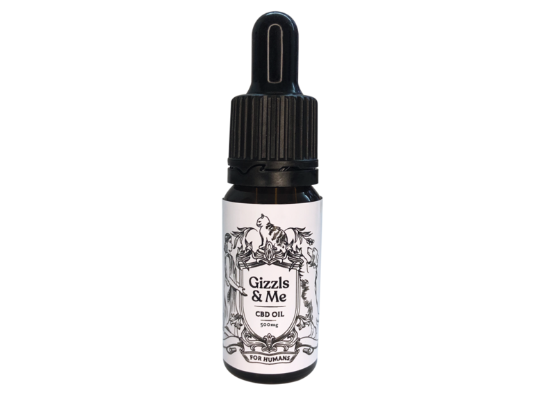 Gizzls & Me CBD Oil (for humans) – 500mg