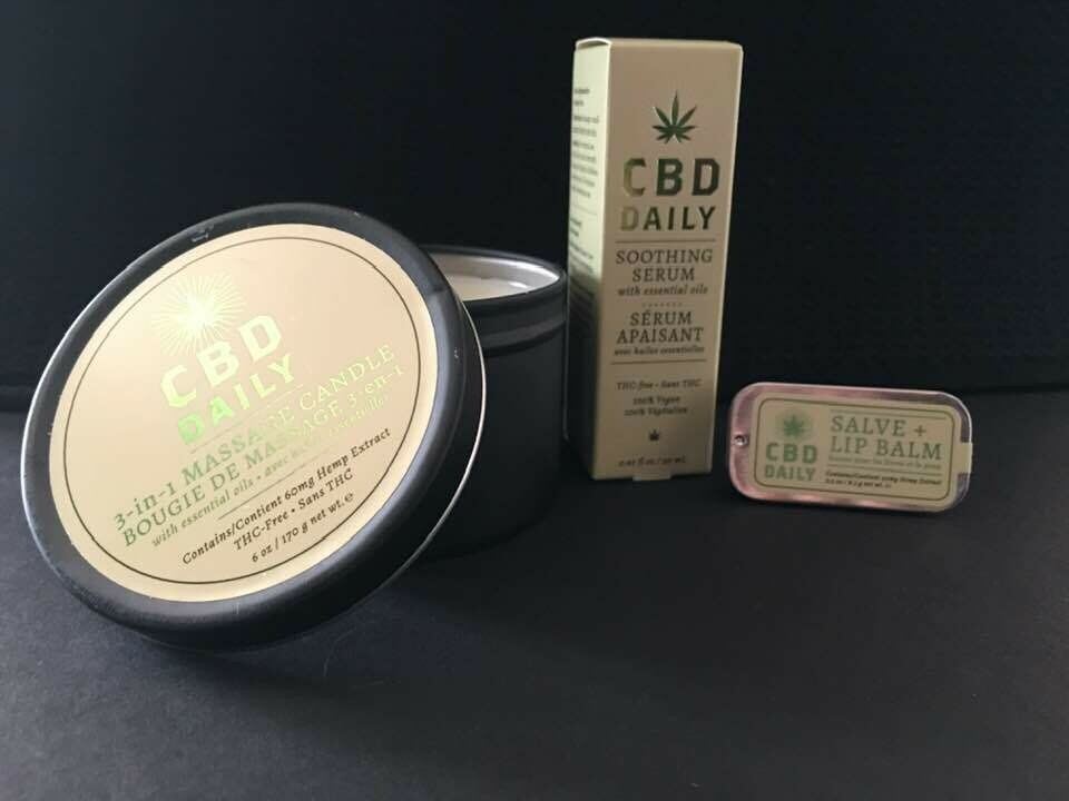 CBD Daily Scented Candle