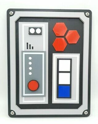 Star Wars inspired Door Control Panel / 3d Prop Replica