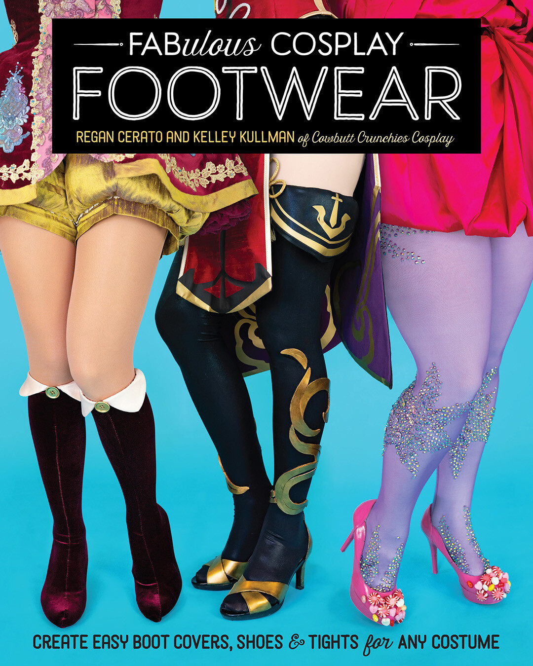 Fabulous Cosplay Footwear (1 free print included through mid-Oct!)