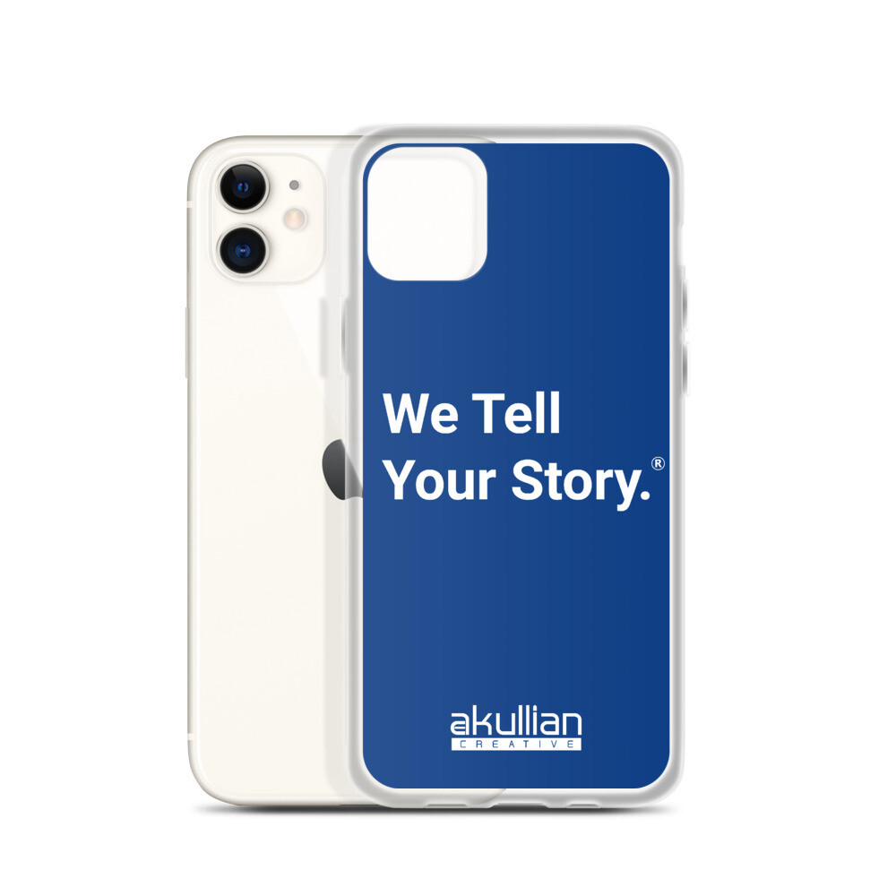We Tell Your Story iPhone Case