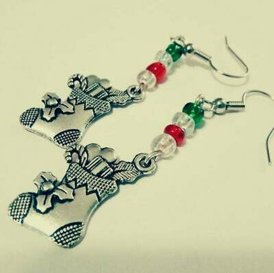 Christmas Stockings Holiday Earrings