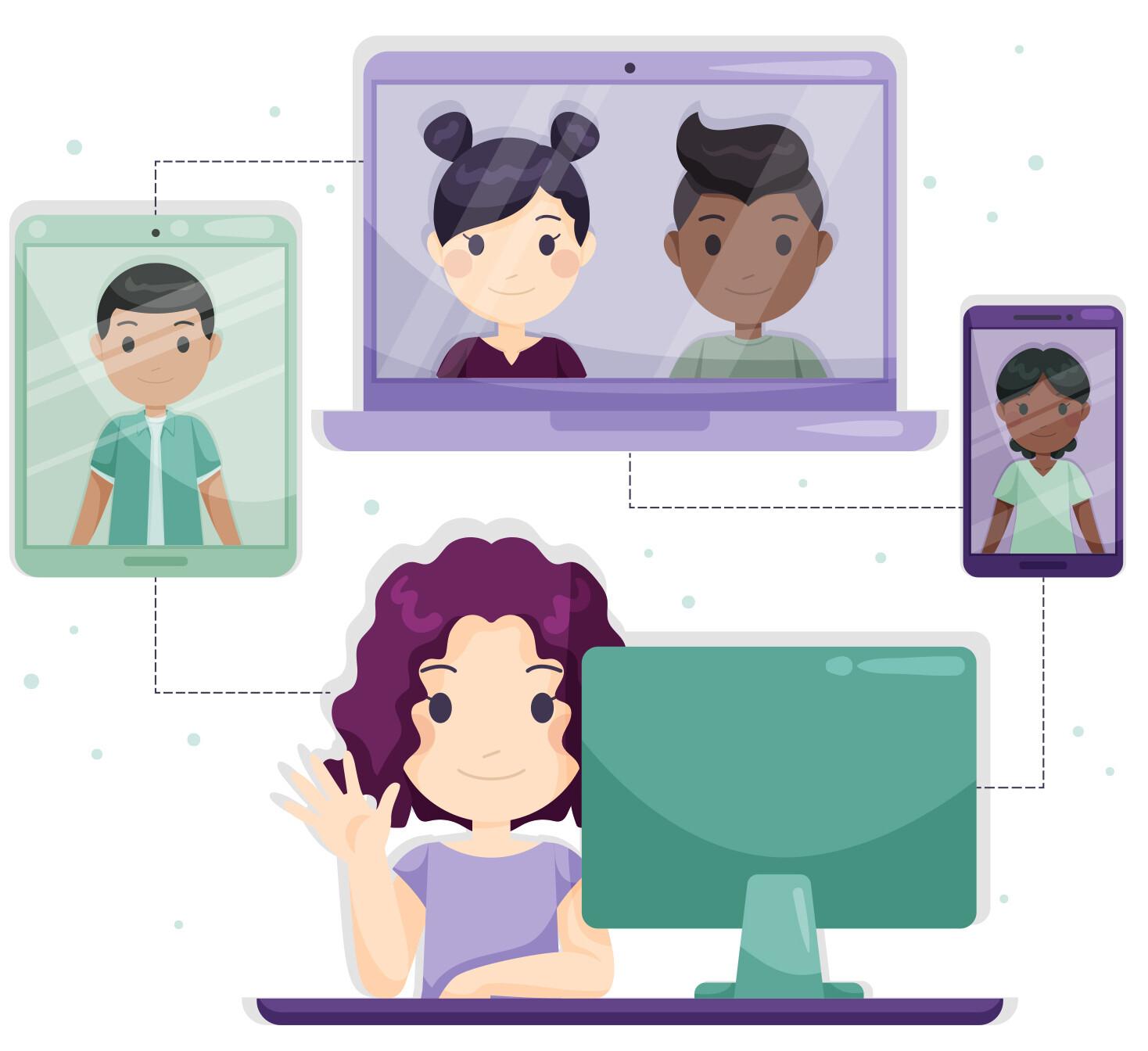 Образовательные игры. Как организовать увлекательную групповую работу онлайн.