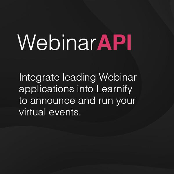 Webinar API