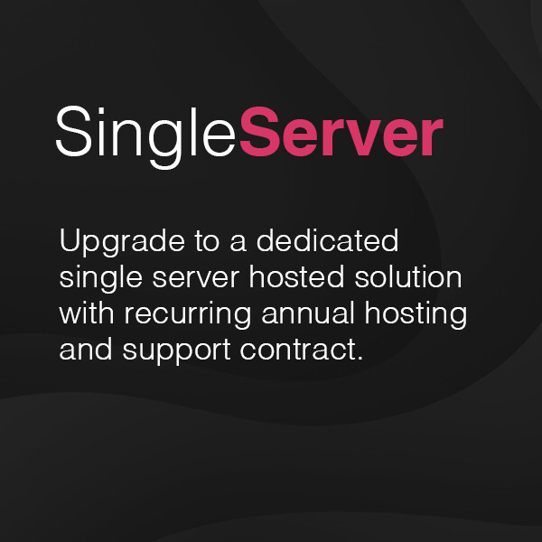 Single dedicated hosting and support