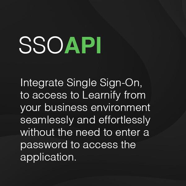 Single Sign-On API