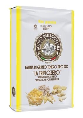 La Triplozero Farina di grano tenero  TIPO 00 Molino Dallagiovanna