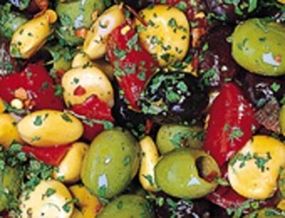 Cod. 049 Olive verdi e nere con Lupini ohne Stein