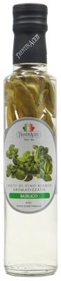 Aceto vino bianco basilico  Trentin Aceti