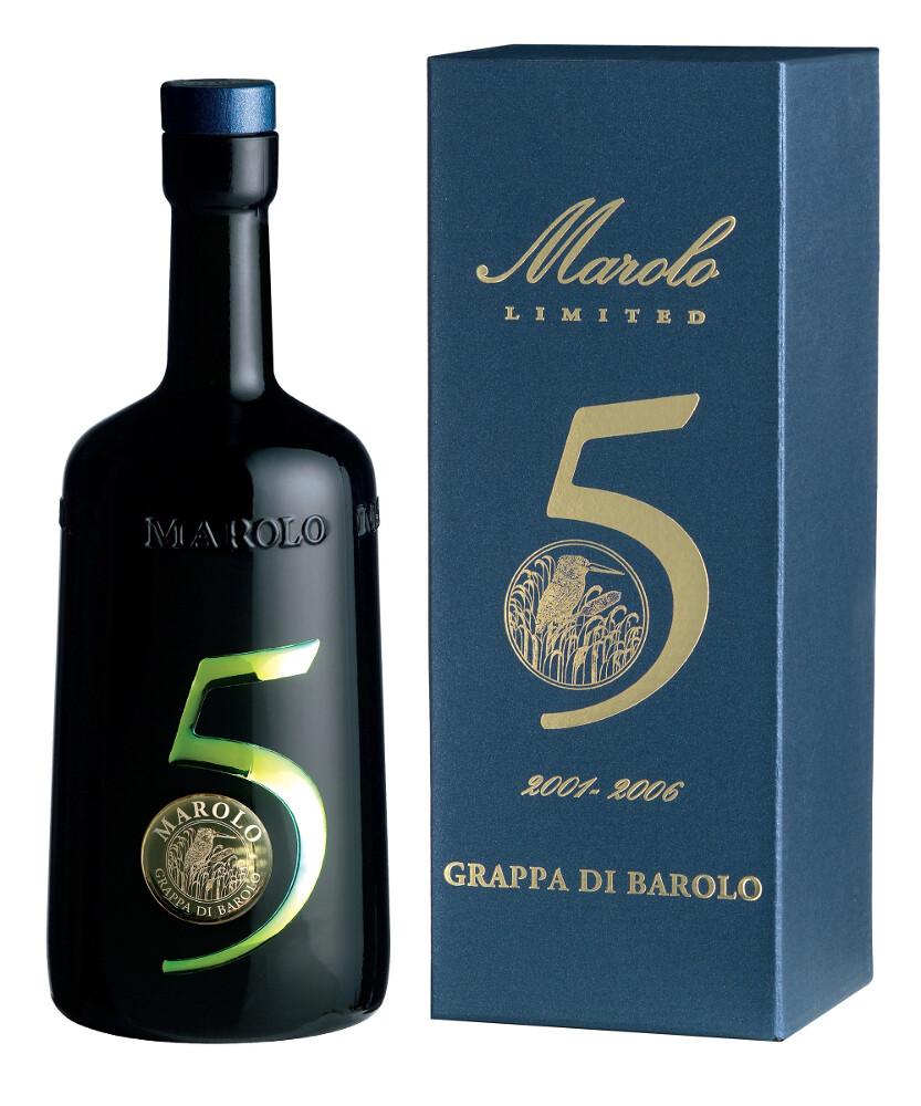 Grappa di Barolo For Friends  Marolo in Kartonetui, limitierte Auflage