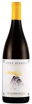 Etna Bianco DOP  Contrada Montedolce  Giovanni Rosso  in Holzkiste