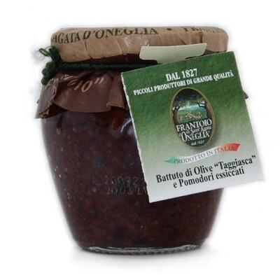Battuto di olive Taggiasca e pomodori essiccati Sant'Agata