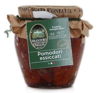 Pomodori secchi in olio di Oliva  extra vergine Sant'Agata