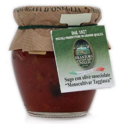 Sugo alle Olive Taggiasche  snocciolate Sant'Agata