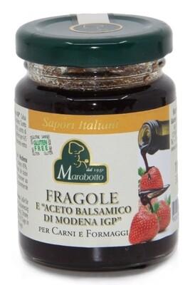 Confettura fragole e aceto  balsamico Marabotto