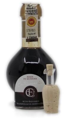 Aceto Balsamico tradizionale  di Modena DOP Extravecchio  25 anni Acetaia Cazzola e Fiorini