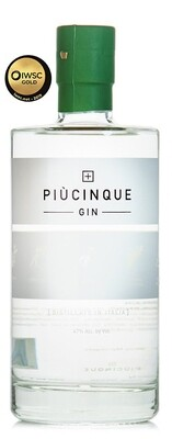 Gin PIÙCINQUE Threespirits